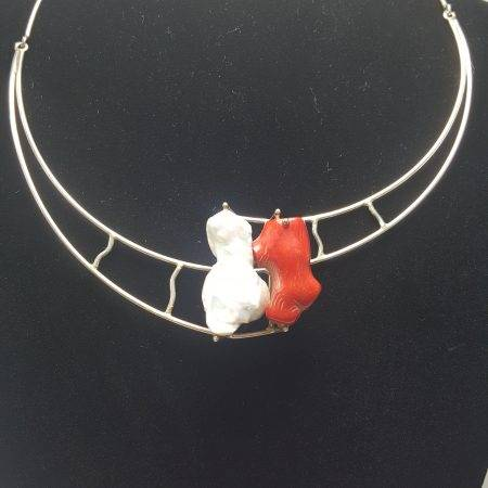 gargantilla de perla barroca - 1041001
