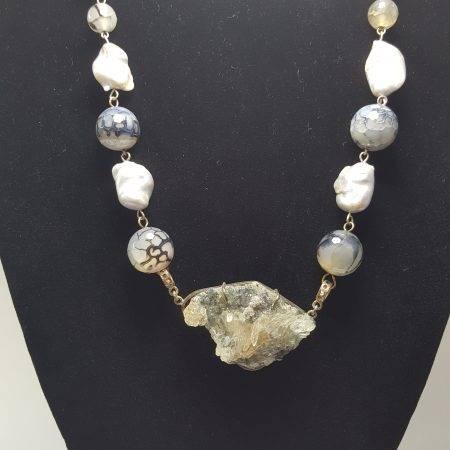 collar de perla barroca - 1045001