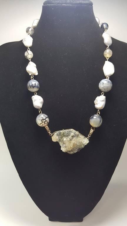 0a7d80ea215a collar de perla barroca 1045001 - Paula Abril