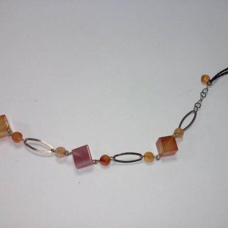 pulsera cornalina - 2010003