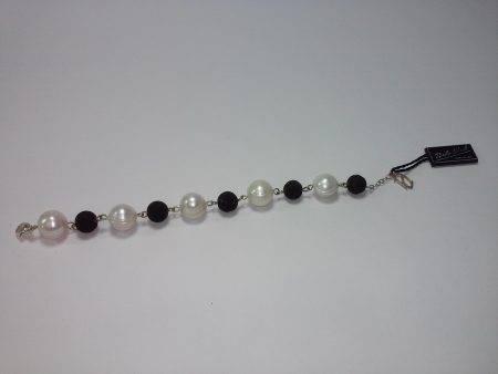 pulsera de perla y lava - 2044001