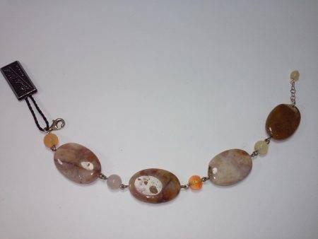 pulsera de jaspe y cornalina - 2061001