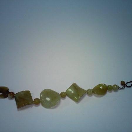 pulsera jade caramelo - 2095001