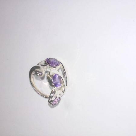 anillo de amatista - 4001003