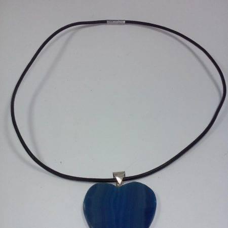 colgante de ágata azul - 5022001