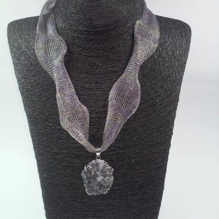 colgante de flor de amatista - 5098005